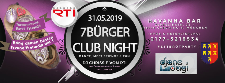 Havanna Nightclub fb event 31 05 2019